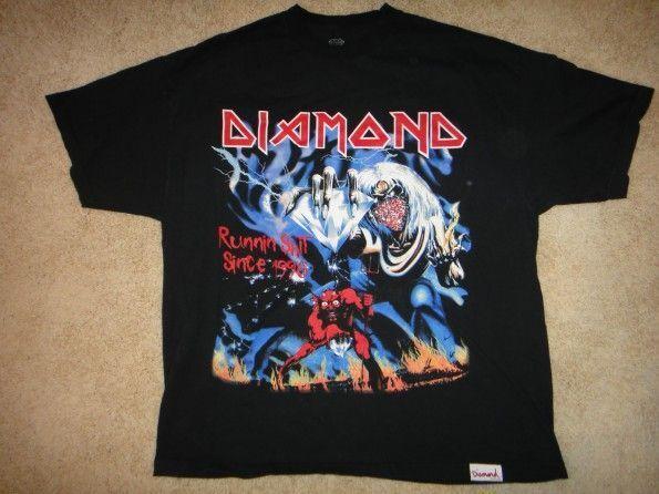 2006 Diamond Supply Co x Iron Maiden