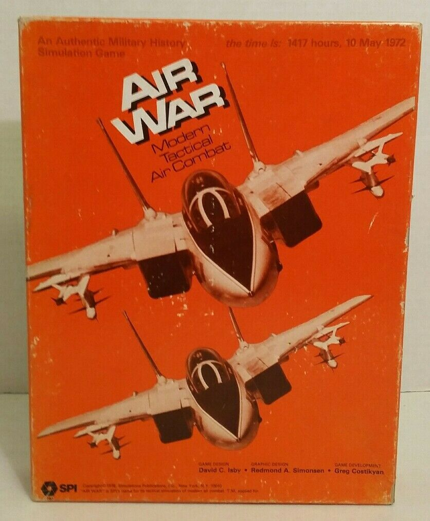 Air War Military Tactical Simulation 1417 Hours 10 May 1972 95% Complete C 1978