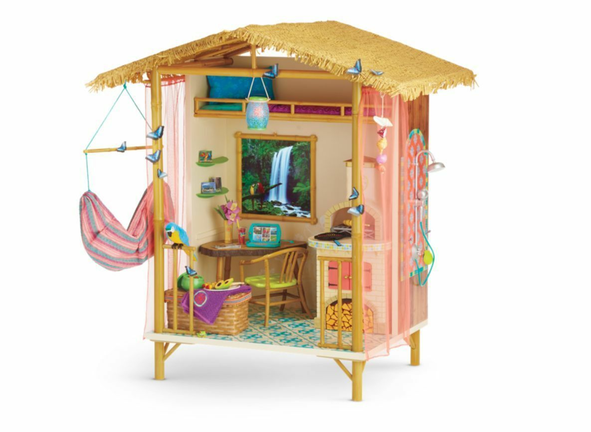 American Girl Doll LEA's Rainforest House NEW BOX Great Gift Same Day Ship