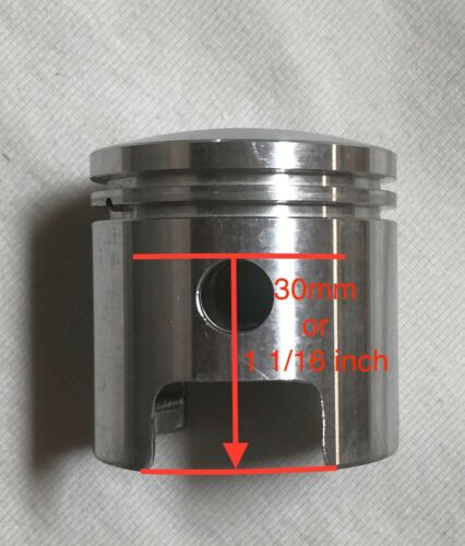 wider intake 40mm cylinder HH piston 30mm /& rings 80cc Motorized GAS ENGINE