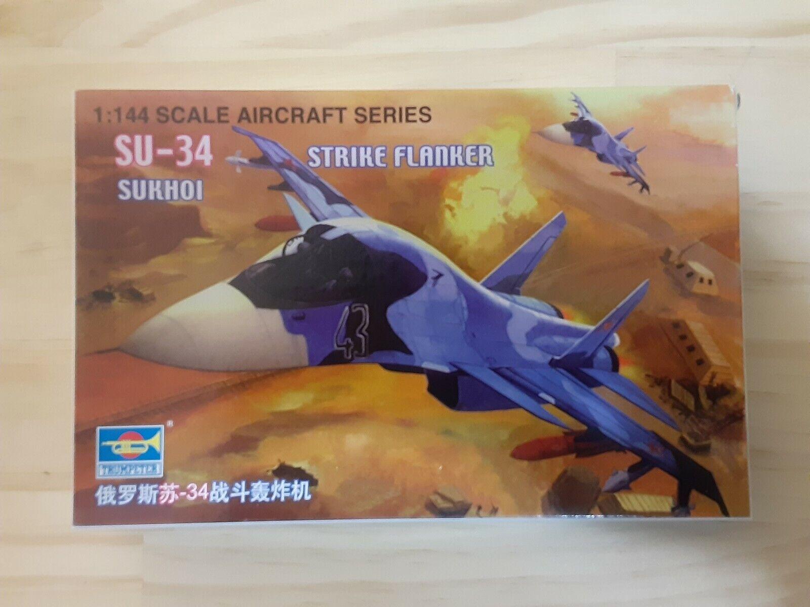 "Triple Nuts Russian Federation Sukhoi Su-34 /""Fullback/"" 1//144 Modern Bomber"