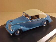 Oxford 1/43 Diecast Armstrong Siddeley Hurricane, M Campbell's Blue Bird #ASH005