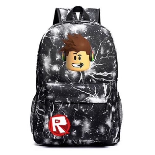 Students Bookbag Kids Schoolbag Backpack with Roblox Handbags Travelbag Boy Gift
