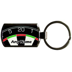 picture relating to Printable Dart Board referred to as Information with regards to Customized DART BOARD PRINT OBLONG Fashioned Metallic KEYRING WITH PRINTABLE Add
