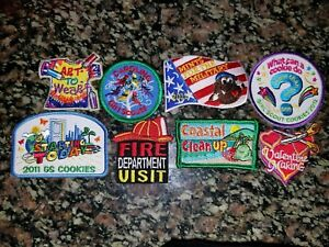 Details about Girl scout patches lot