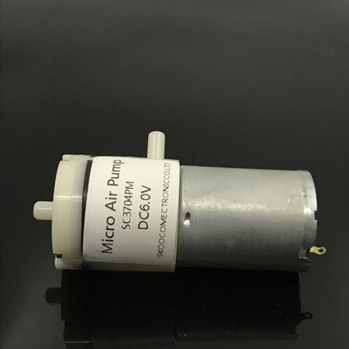 DC 3V 5V 6V Mini Micro Motor de 370 Bomba De Vacío Bomba de aire bomba de presión negativa Hazlo tú mismo