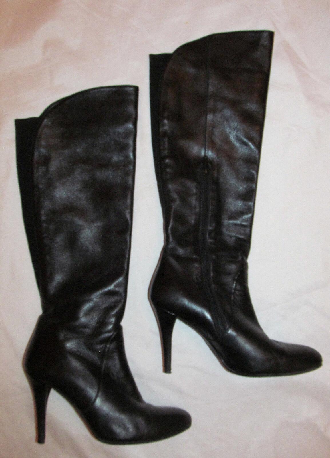 STUART WEITZMAN  over over over knee high heel leather boots 8 M d54b82