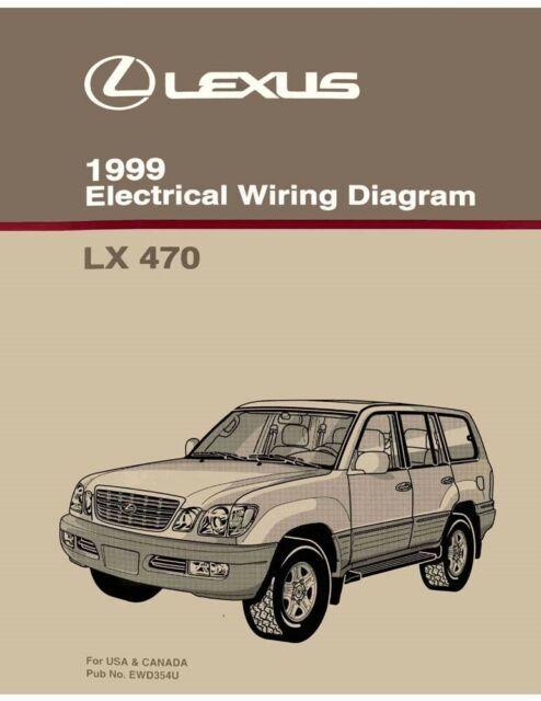 1999 Lexus Lx 470 Wiring Diagrams Schematics Layout