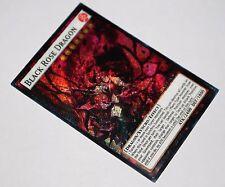 Black Rose Dragon YUGIOH orica SECRET RARE altered art proxy custom alternative