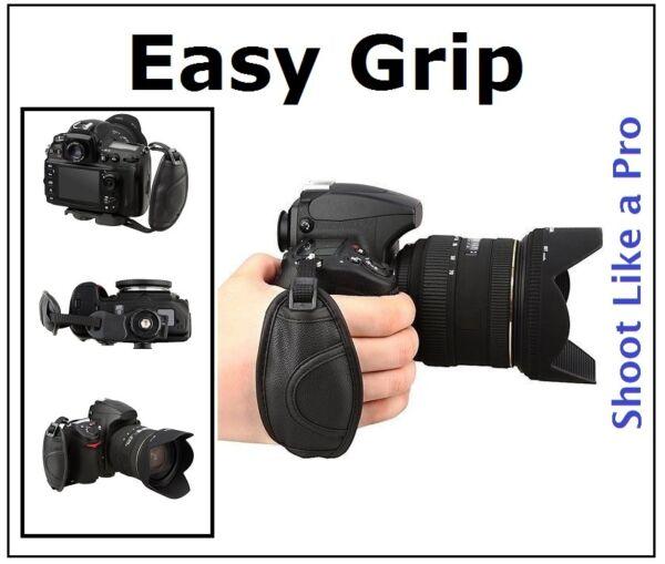 à Condition De Poignée Pro Grip Sangle Pour Fujifilm Finepix S9400w S9200 S8600 Pas De Frais à Tout Prix
