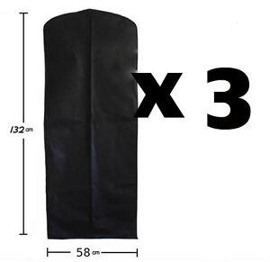 HANGING-DRESS-TRAVEL-BAG-CLOTHES-SHIRT-COVER-SUIT-X-3