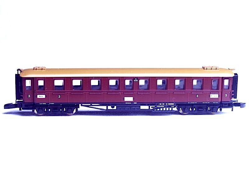 87960 Marklin Z W FRANS65533;65533; rttemberg Express Train Passagerarbil
