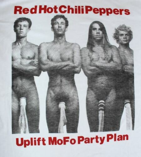 Red Hot Chili Peppers Vintage T Shirt WOmen Mens Reprint Size S-4XL B062