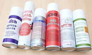 Gefäßfüller verschiedenster Hersteller für Ausdehnungsgefäße