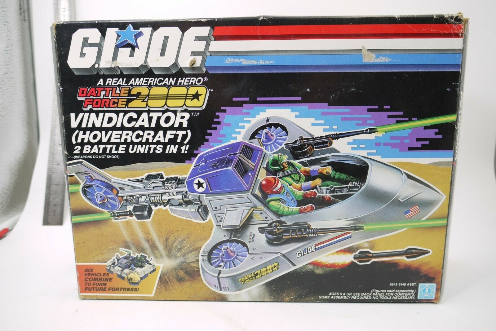 G.I Joe 1987 Vindicator Battleforce BF 2000 + scatola 100% 100% 100% completare 97e928