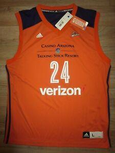 DeWanna-Bonner-24-Phoenix-Mercury-Wnba-adidas-Jersey-LG-Autograph-Signed-NEW