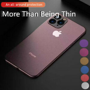 For-iPhone-11-Pro-XS-Max-XR-X-7-8-Ultra-thin-Matte-Frosted-Hard-Back-Case-Cover