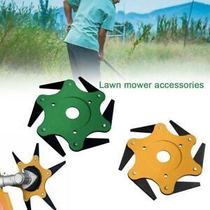 Outdoor-Trimmer-Head-6-Steel-Blades-Razors-65Mn-Lawn-Mower-Grass-Weed-Cutter-Top