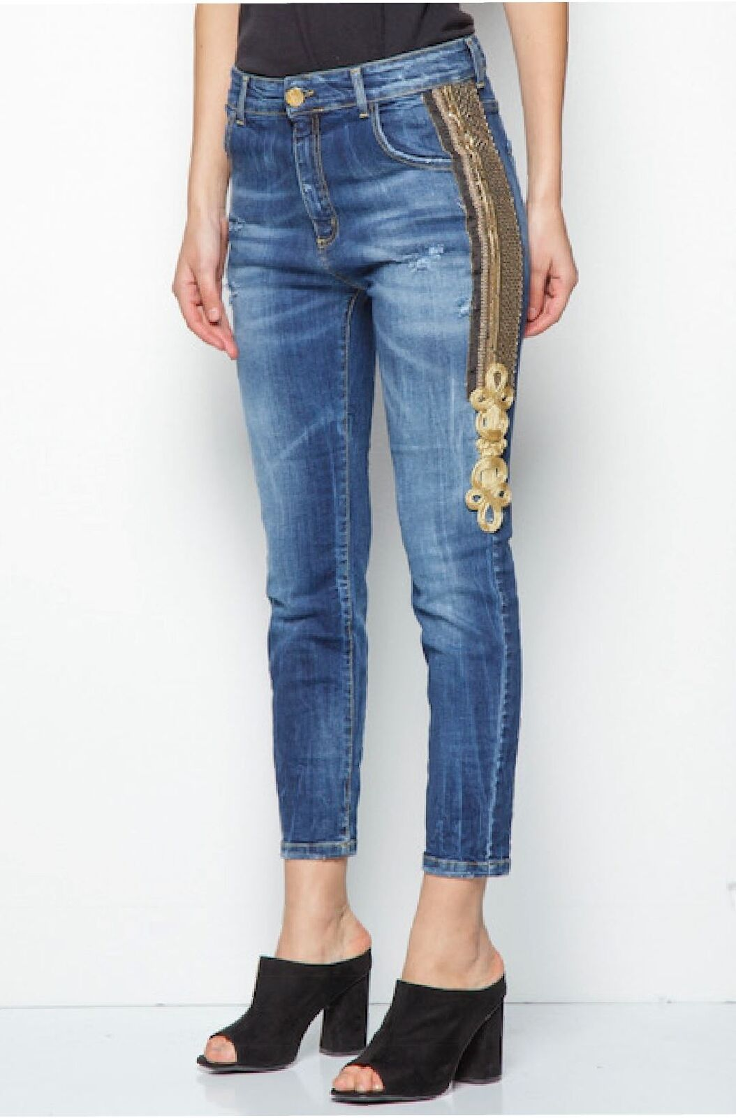 Pantalone Jeans  Revise bluee vibers By Belen Rodriguez women abbigliamento