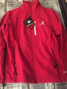University of Alabama Men's Crimson Yukon Style Zip Up Jacket