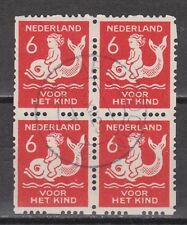 Roltanding 84 blok sheet used TOP CANCEL APELDOORN NVPH Netherlands syncopated