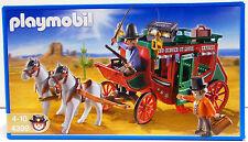POSTKUTSCHE  Playmobil 4399 v.`10 zu Western Cowboys Colorado Steckbrief OVP NEU