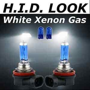 MG MG ZR 100w Super White Xenon HID High//Low//Fog//Side Headlight Bulbs Set