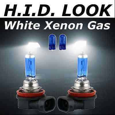 Peugeot 3008 H7 H7 501 100w Clear Xenon HID High//Low//Side Headlight Bulbs Set