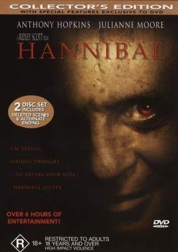 1 of 1 - Hannibal (DVD, 2001, 2-Disc Set)