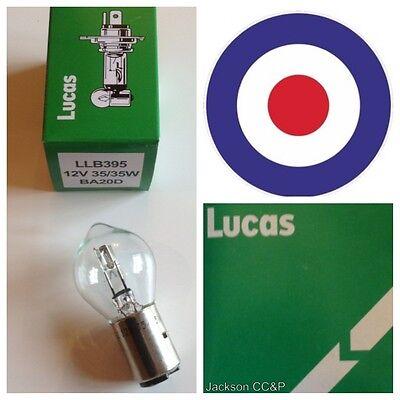 Lambretta, Vespa Classic 12V 35/35W Lucas Scooter Bulb LLB395