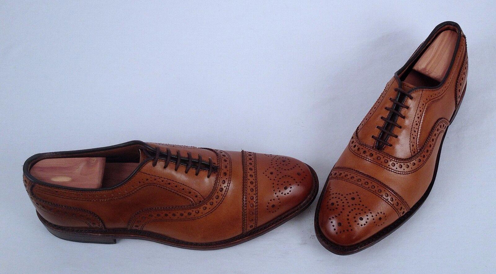 stile classico Allen Edmonds Edmonds Edmonds Strand Oxford - Walnut- Dimensione 7 E  395  vendita online sconto prezzo basso