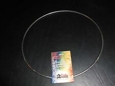 """TANDY LEATHER 9"""" METAL HOOP RING FOR ART & CRAFTS.  SOLID."""