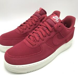 Nike Air Max Force 1 '07 Suede Men's Running Shoes Red Crush-Sail