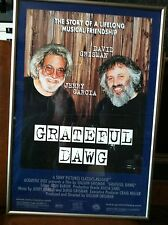 Grateful Dawg Movie Poster, Jerry Garcia, David Grisman, Nicely Framed