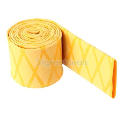 Non Slip Heat Shrink Wrap Tubing Grip Fishing Rod Racket Handle Sleeve 15mm