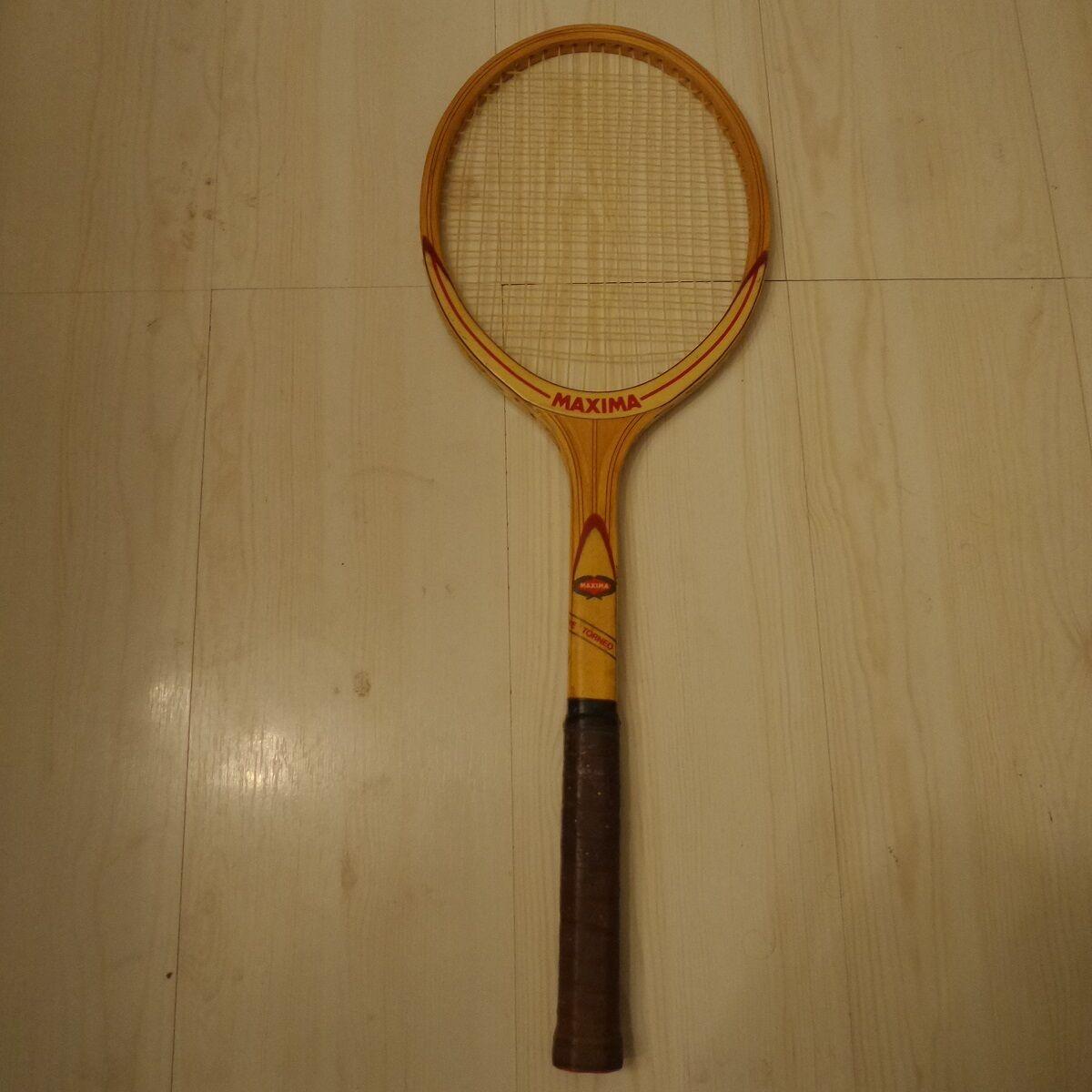 Racchette il legno vintage Maxima De Luxe, Maxima Torneo Torneo Torneo de Luxe b83550
