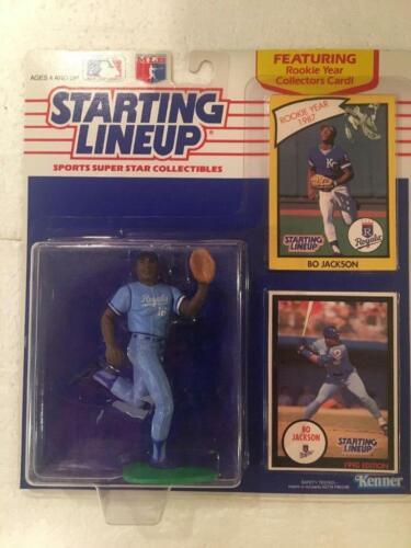 1990 Bo Jackson Kansas City Royals Starting Lineup Figure