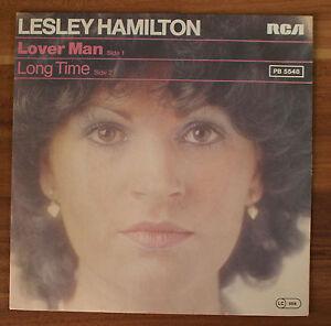 Single-7-034-VINYL-Lesley-Hamilton-Lover-Man-long-time-1977