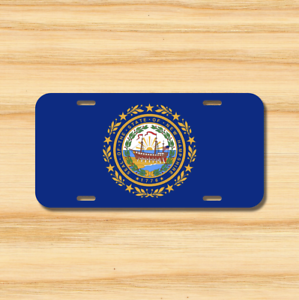 New Hampshire State Flag License Plate Vehicle Auto Tag Concord NH FREE SHIPPING