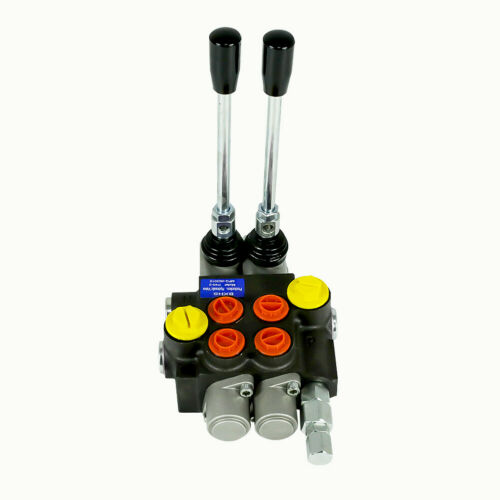 2 Spool Hydraulic Flow Directional Control Valve for Agricultural Machine 13GPM