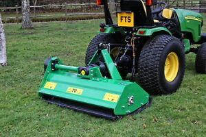 Details about EFG125 - Flail Mower - 1 25m Wide - For Compact Tractors