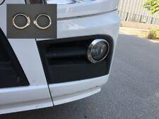 2x Acciaio Inox Luci Fendinebbia Anelli/Cover per Mercedes Actros MP4