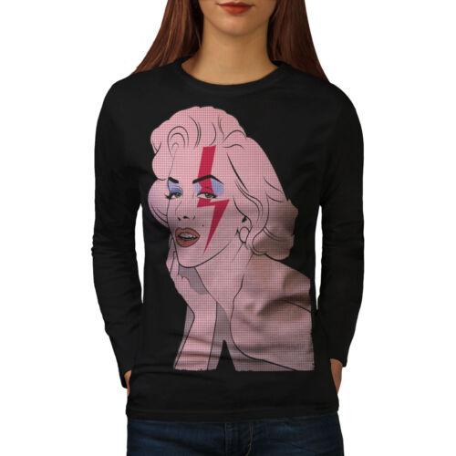 Lightning Casual Design Wellcoda Becomes Womens Long Sleeve T-shirt