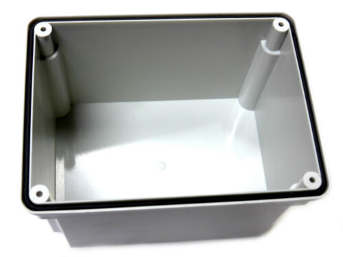 Pack of 1 or 2 Deep Junction Box 150mm x 110mm x 140mm Weatherproof Enclosure