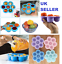 Silicone-Weaning-Baby-Food-Freezer-Tray-7-Pots-Storage-Container-w-Lid-BPA-Free thumbnail 1