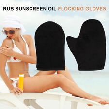 Luxury Velvet Self Tan Mitt BEST Reusable Fake Tan Applicator Mitt Mitten Glove