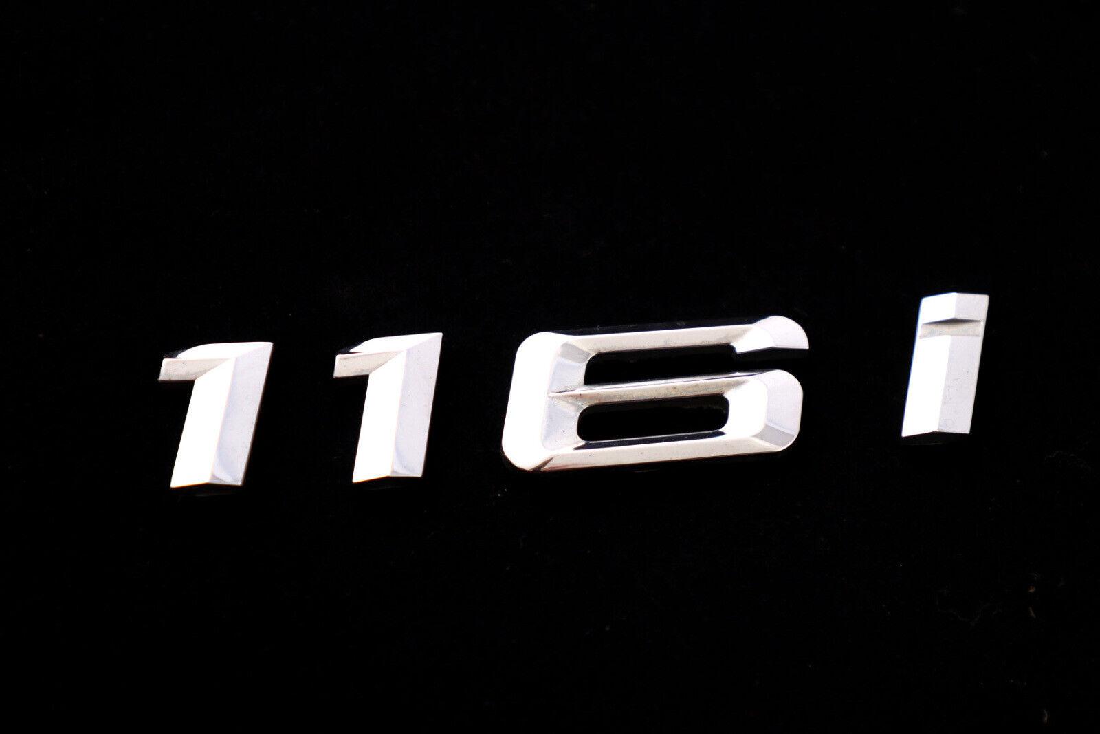 BMW 1 Série E81 E87 F20 116i Coffre Arrière Couvercle Hayon adhéré Emblème Lettrage