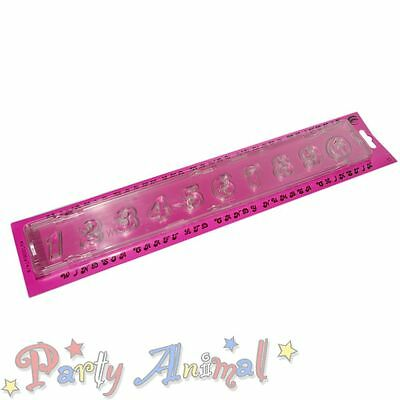 Windsor Clikstix CANDY Candi Font ALPHABET CUTTERS with ejector Sugarcraft Cake
