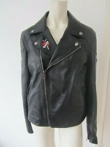 New-Belstaff-Wingrave-2-0-Waxed-Leather-Embroidered-Patch-Biker-Jacket