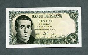 BILLETE 5 pesetas 1951  con  serie 1I SC   SIN CIRCULAR